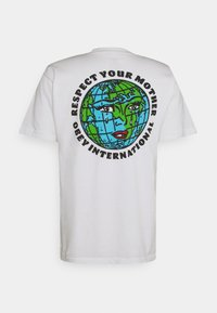 Obey Clothing - RESPECT YOUR MOTHER - Printtipaita - white - 1