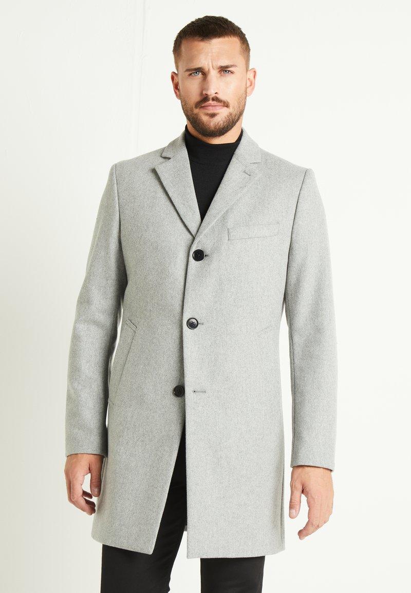 J.LINDEBERG - WOLGER COMPACT MELTON COAT - Manteau classique - granite melange