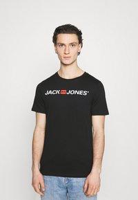 Jack & Jones - JJECORP LOGO TEE CREW NECK 3 PACK - Print T-shirt - white - 3
