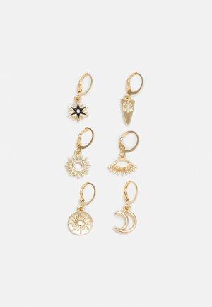 FGMETTE EARRINGS 3 PACK - Earrings - gold-coloured