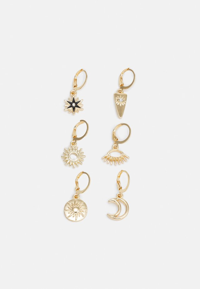 FGMETTE EARRINGS 3 PACK - Øreringe - gold-coloured