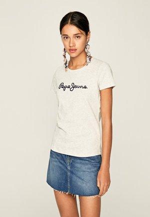 BAMBIE - T-shirt z nadrukiem - mottled grey