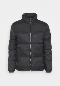 PUFFER COLLAR - Winter jacket - black