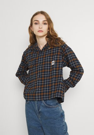 BAXTER SHIRT - Button-down blouse - astro/tawny
