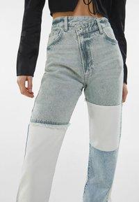 Bershka - Straight leg jeans - light blue - 3