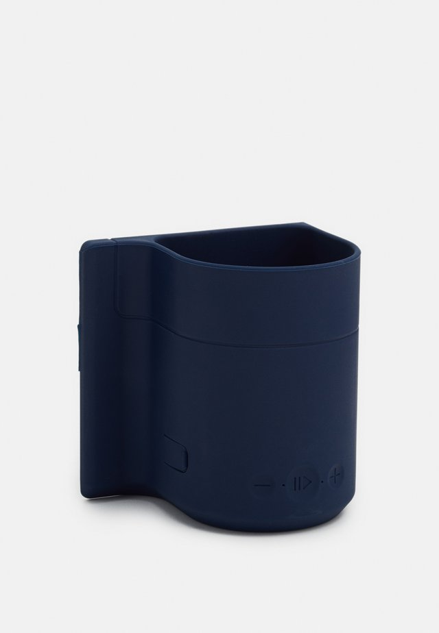 BEER HOLDER SHOWER SPEAKER - Reproduktor - navy