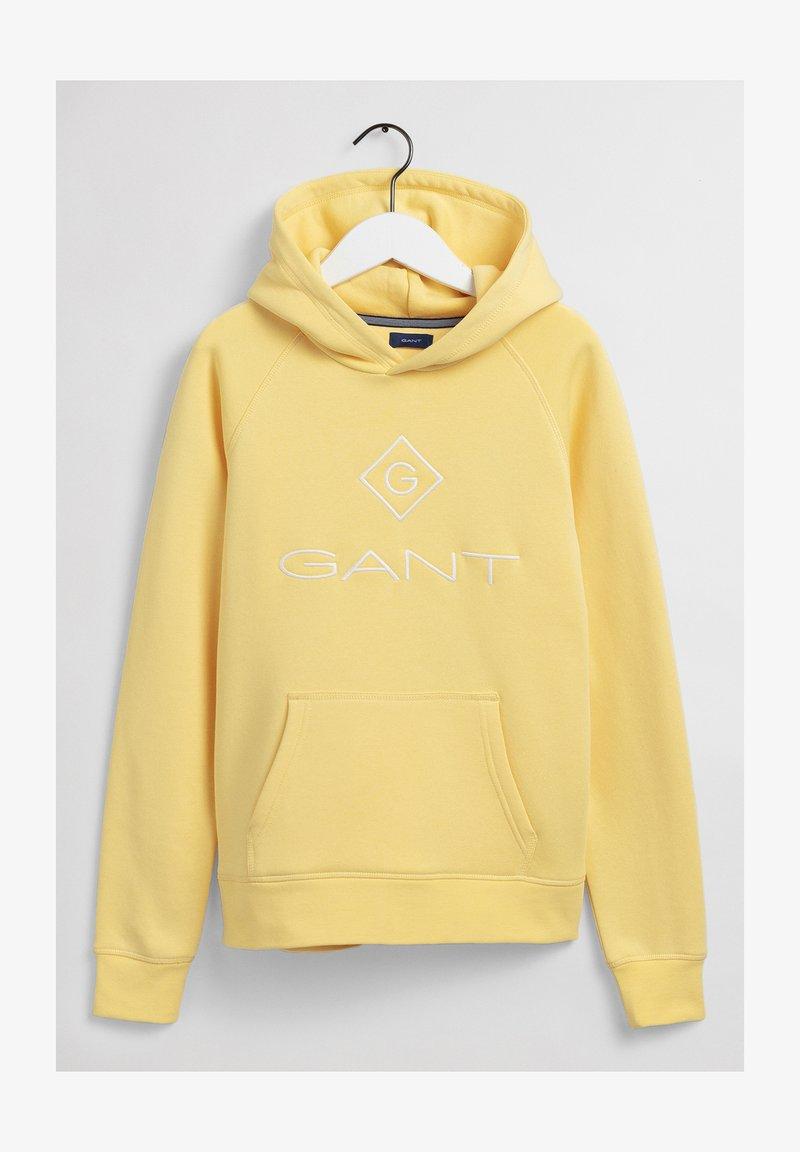 GANT - Hoodie - brimestone yellow