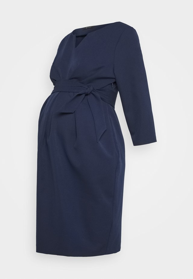DAVEA - Shift dress - dark blue