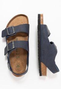 Birkenstock - MILANO BF VEGA - Sandals - matt navy - 1