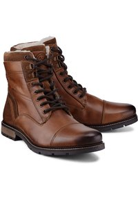 COX - Lace-up ankle boots - dunkelbraun - 3
