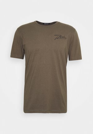T-shirt con stampa - military