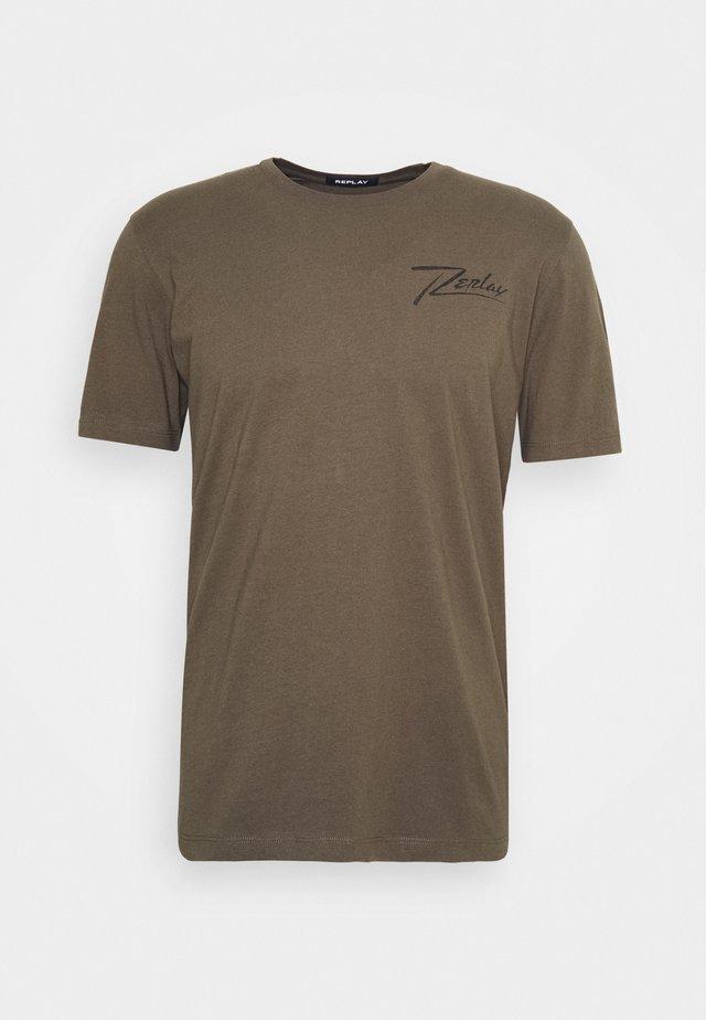 Print T-shirt - military