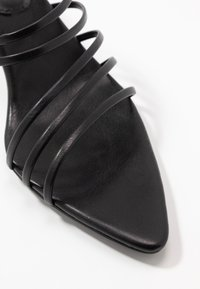 NA-KD - STRAPPY POINTY  - Heeled mules - black - 2