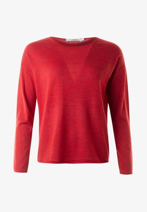 JONATHAN - Stickad tröja - red