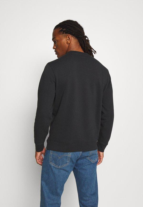 Levi's® GRAPHIC CREW - Bluza - jet black/czarny Odzież Męska CLZT