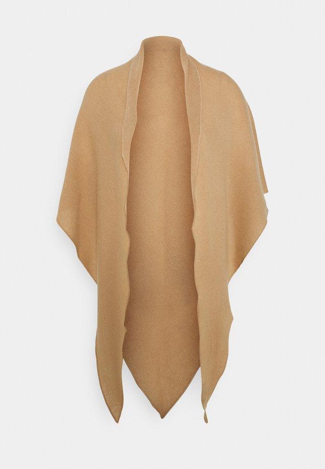 TRIANGLE SCARF - Šátek - camel