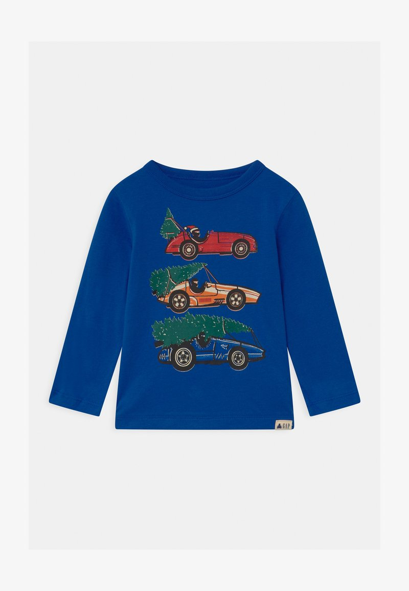 GAP - TODDLER BOY GRAPHIC - Long sleeved top - admiral blue