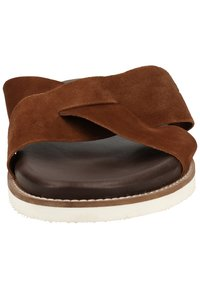 Sansibar Shoes - Muiltjes - dunkelbraun 41 - 5