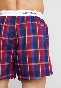 Calvin Klein Underwear - MODERN BOXER SLIM 2 PACK - Boxershorts - blue - 2