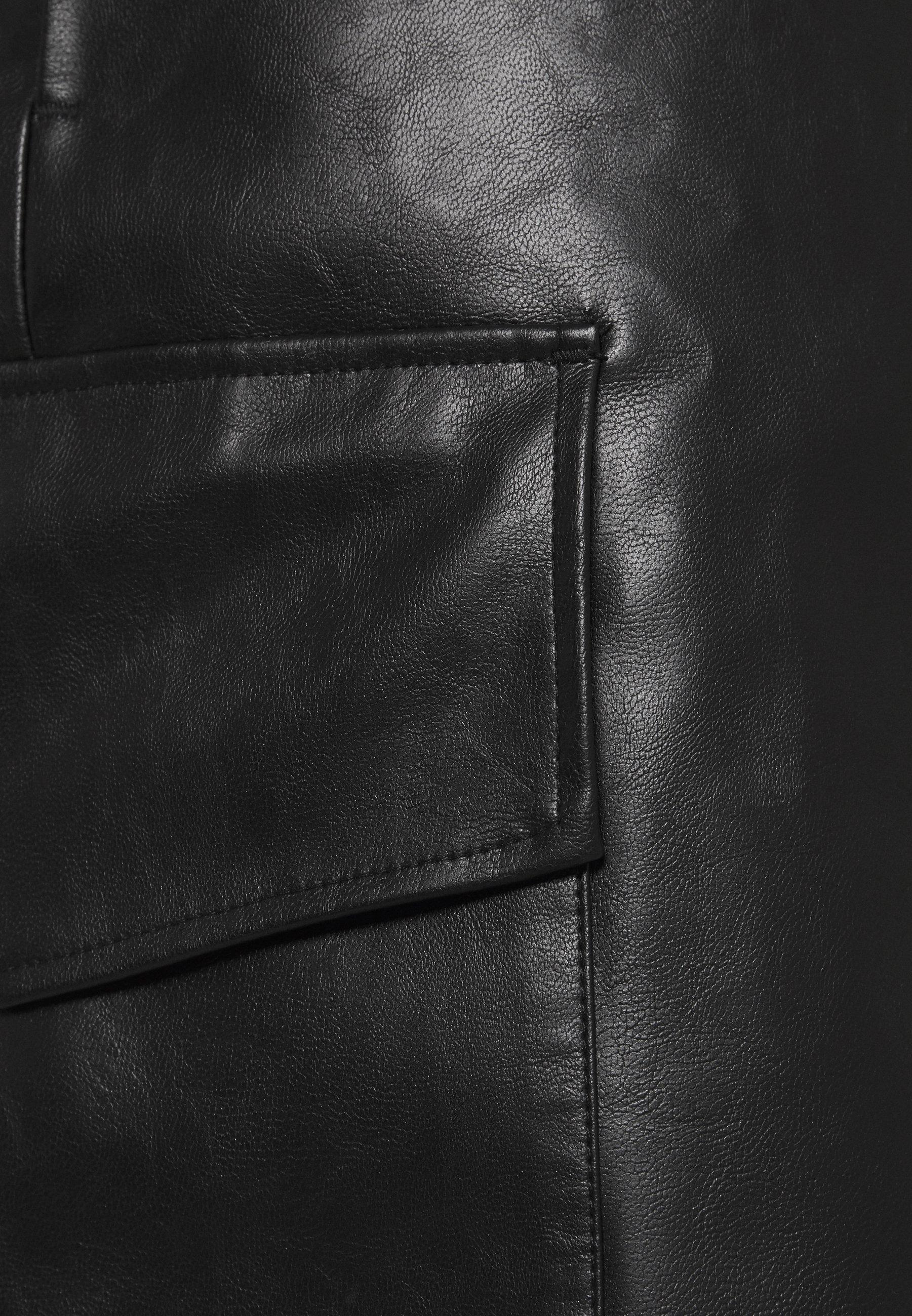 Sale Women's Clothing DESIGNERS REMIX MARIE WRAP SKIRT Pencil skirt black S3KqiDpta