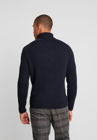 Marc O'Polo - TURTLE NECK - Jumper - total eclipse - 2