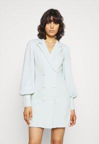 Missguided - SLEEVE BLAZER DRESS - Shirt dress - mint - 0
