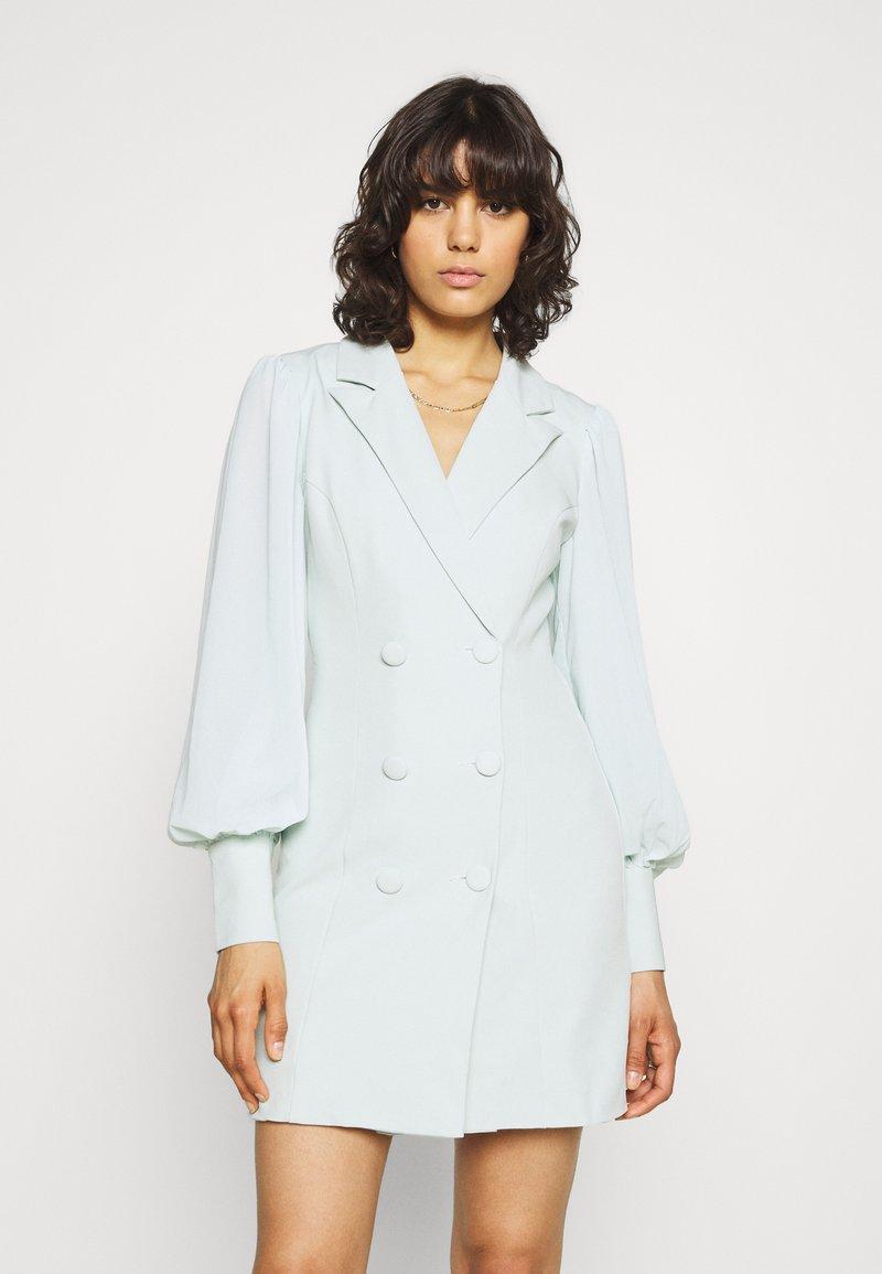Missguided - SLEEVE BLAZER DRESS - Shirt dress - mint