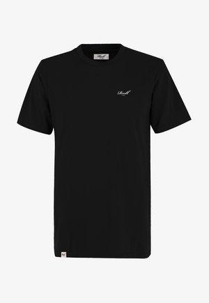 REGULAR LOGO - Basic T-shirt -  deep black