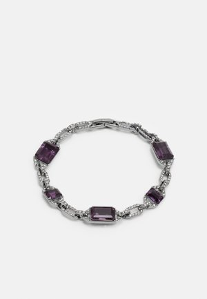 Bracelet - silver-coloured/purple