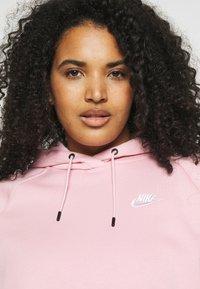 Nike Sportswear - HOODIE PLUS - Jersey con capucha - pink glaze/white - 3