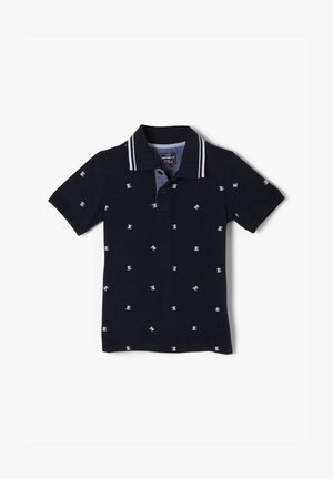 Poloshirt - dark blue aop