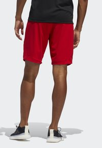 adidas Performance - 4KRFT SPORT ULTIMATE 9-INCH KNIT SHORTS - Shorts - red - 1