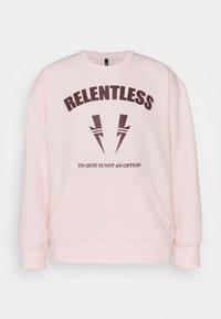 Neil Barrett - RELENTLESS SPORT BOLTS - Mikina - pink/cabernet - 4
