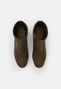 Even&Odd - Classic ankle boots - khaki - 5
