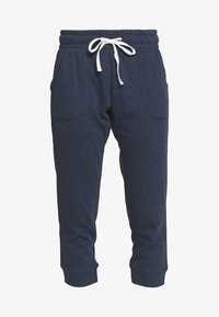 Cotton On Body - CROPPED GYM TRACKPANT - 3/4 sports trousers - dark blue
