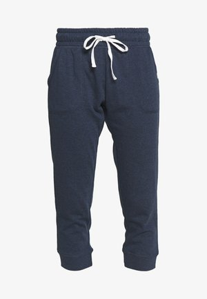 CROPPED GYM TRACKPANT - Pantalón 3/4 de deporte - dark blue