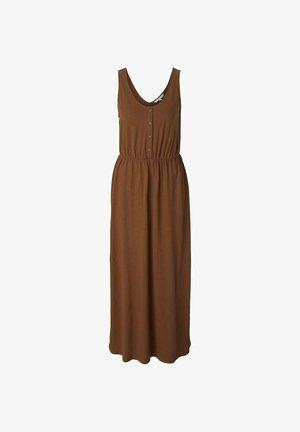 Maxi-jurk - amber brown