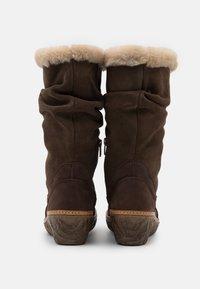 El Naturalista - MYTH YGGDRASIL - Wedge boots - pleasant/brown - 3