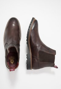 Base London - WILKES - Classic ankle boots - washed brown - 1