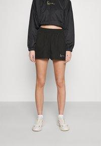 Karl Kani - SMALL SIGNATURE - Shorts - black - 0