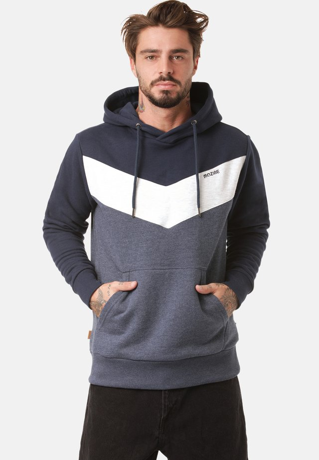 Sweatshirt - navy / navy mel.