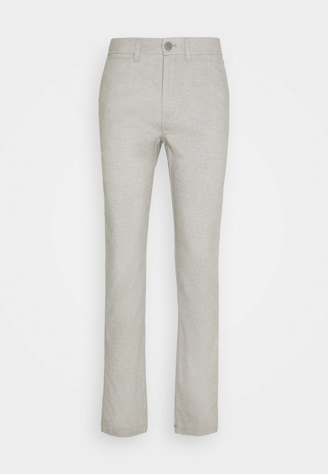 CHUCK REGULAR PANT - Pantalones - mottled grey