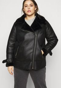 New Look Curves - AVIATOR - Lehká bunda - black