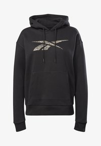 Reebok - MODERN SAFARI HOODIE - Sweater - black - 4
