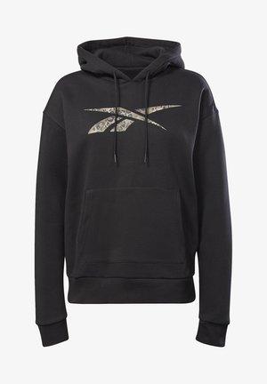 MODERN SAFARI HOODIE - Sweater - black