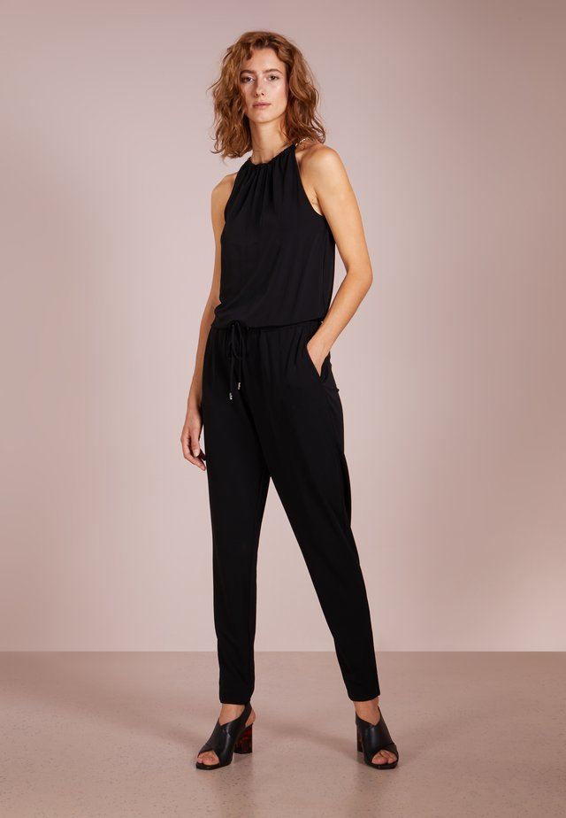 ELEV CHAIN - Jumpsuit - black/silver