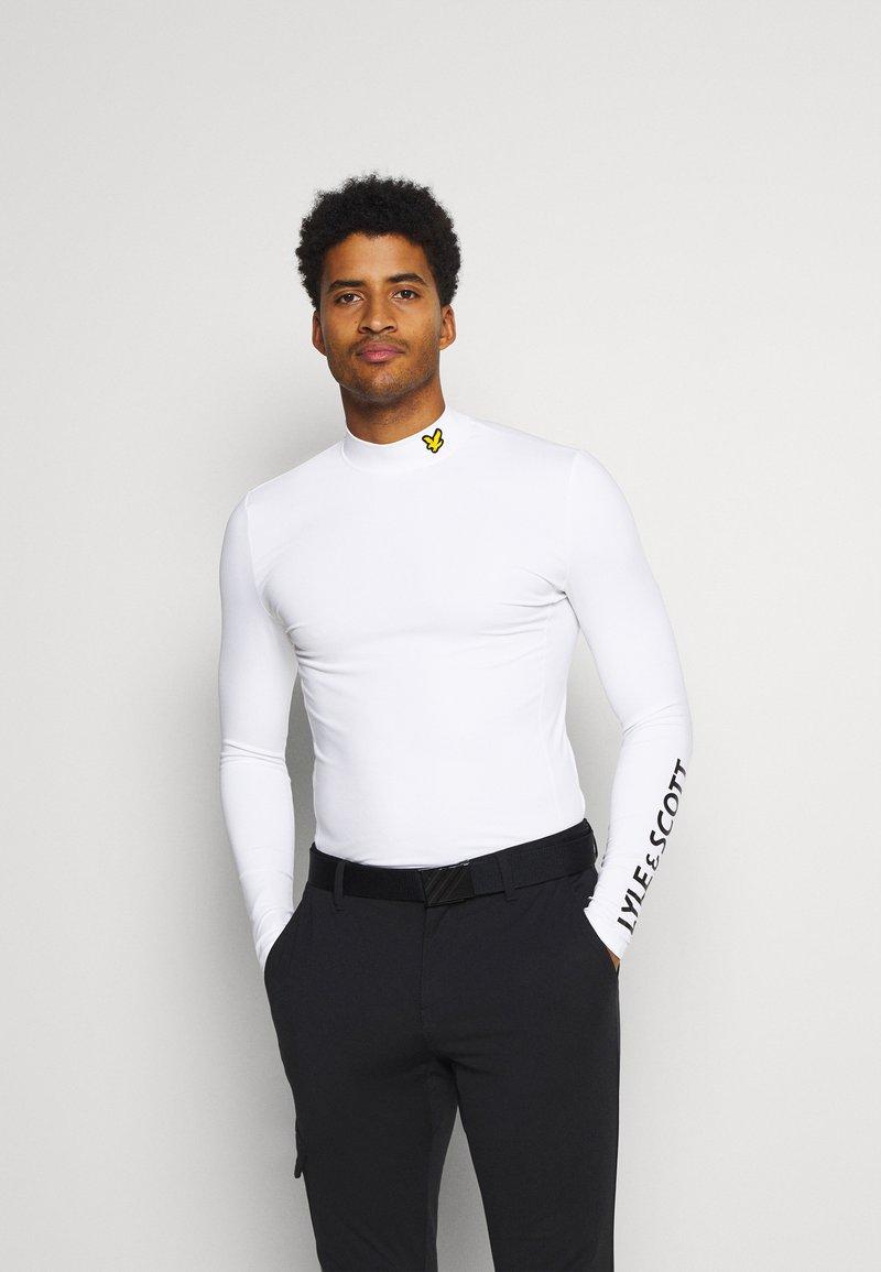 Lyle & Scott - Long sleeved top - white