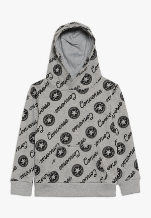 SIGNATURE CHUCK PRINTED HOODIE - Hoodie - dark grey heather