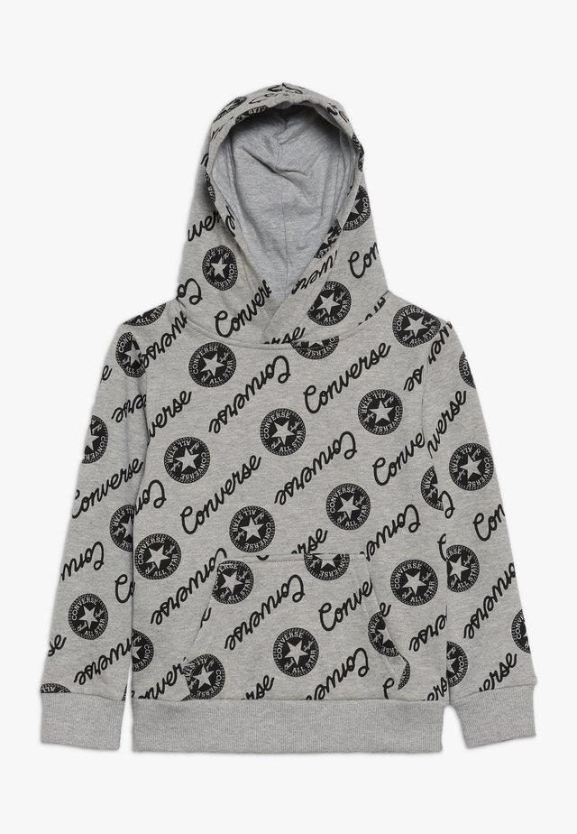 SIGNATURE CHUCK PRINTED HOODIE - Hoodie - dark grey heather