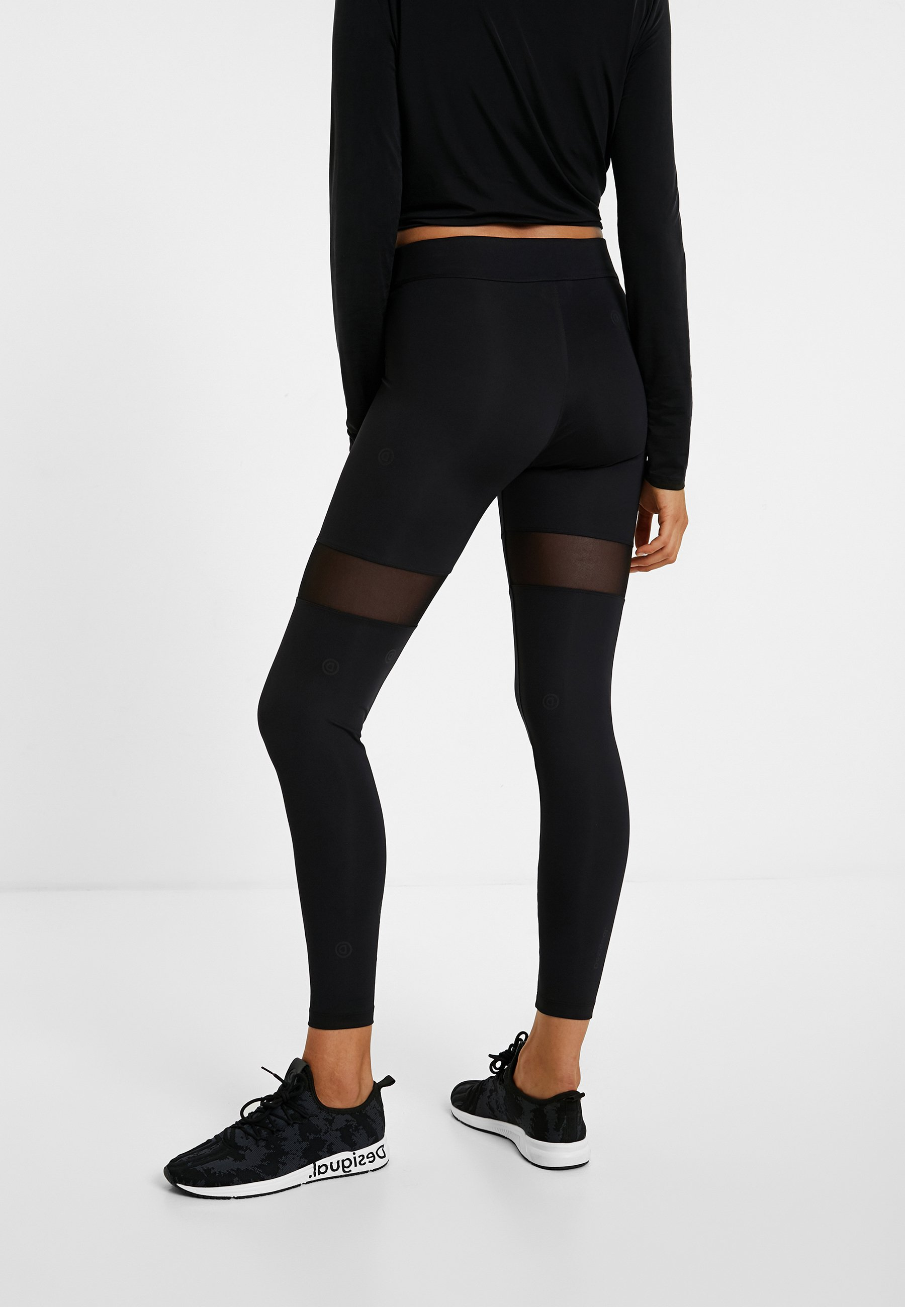 Desigual RIÑO - Legging - black XayLG2wi